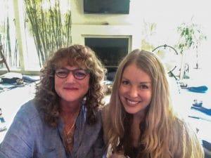 Susan and Jessica