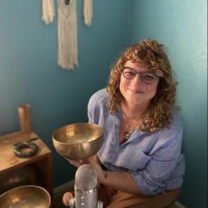 Susan holding bowl